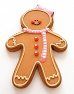 (Video) How to Decorate Gingerbread Girl Cookies with Royal Icing