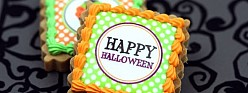 Halloween Edible Image Cookies