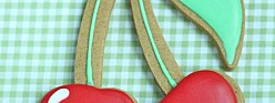Easy Cherry Decorated Cookie How-To