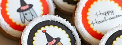 "Gingerbread Cupcakes with Cream Cheese Icing {Recipes for ""Howl-oween""}"
