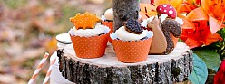 Sweet Fall Favorites – 10 Cupcake & Cookie Recipe and Decorating Ideas
