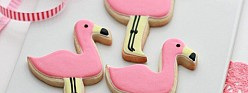 Flamingo Decorated Cookies & An International Giveaway!
