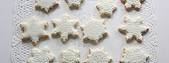 {Video} Snowflake Cookie Tutorial