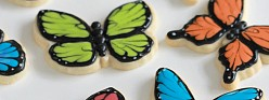 {Video} How to Decorate Butterfly Cookies