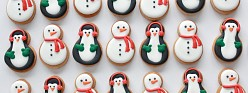 (Video) Snowman and Penguin Cookie How-To