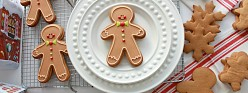 (Video & Recipe) How to Make Gingerbread Cut-Out Cookies & Decorate Gingerbread Men with Royal Icing