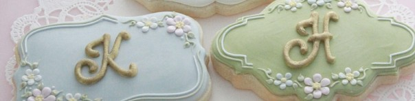Lettered Cookies & Royal Icing Transfers