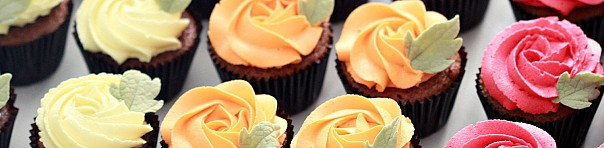 (Recipe) Pumpkin Cupcakes with Vanilla Frosting
