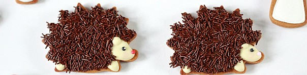 (Video) How to Decorate Hedgehog (or Porcupine) Cookies