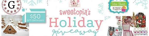 Sweetopia's Holiday Giveaway!