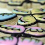decorated butterfly cookies