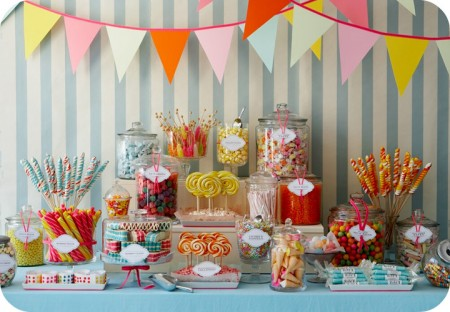 Amy Atlas Candy Buffet