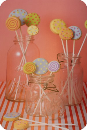 lollipop cookies confetti cakes for kids