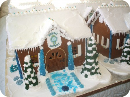 Bombay Sapphire Gingerbread House