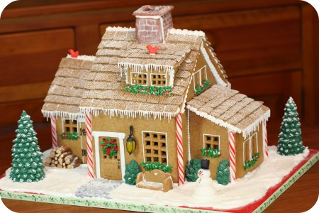ginger bread house gingerbread house 2009