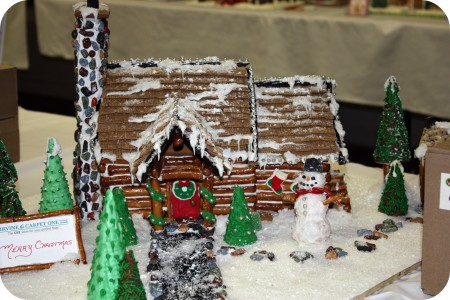 gingerbread cabin
