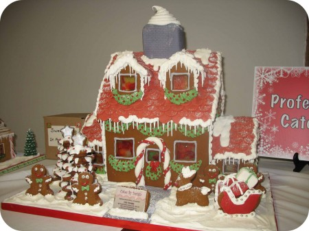 winning gingerbread house cakes by design