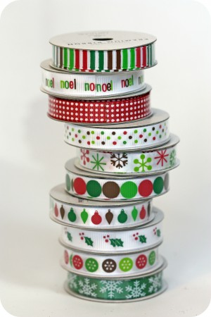 christmas ribbon inspiration