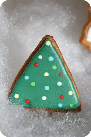 triangle christmas tree easy christmas tree cookie