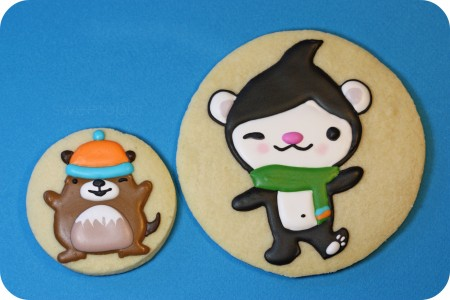 How to Make Olympic Mascot Cookies