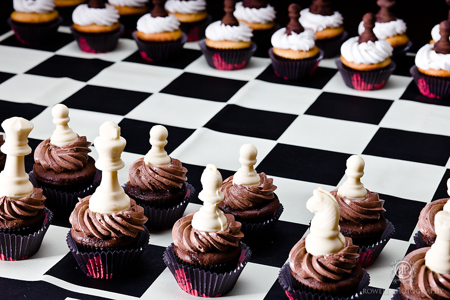 Chess Cake Decorations