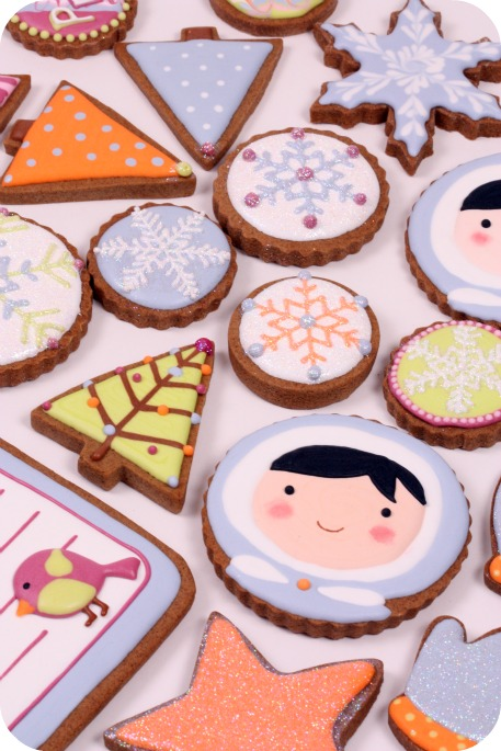 Wintery Christmas Cookies