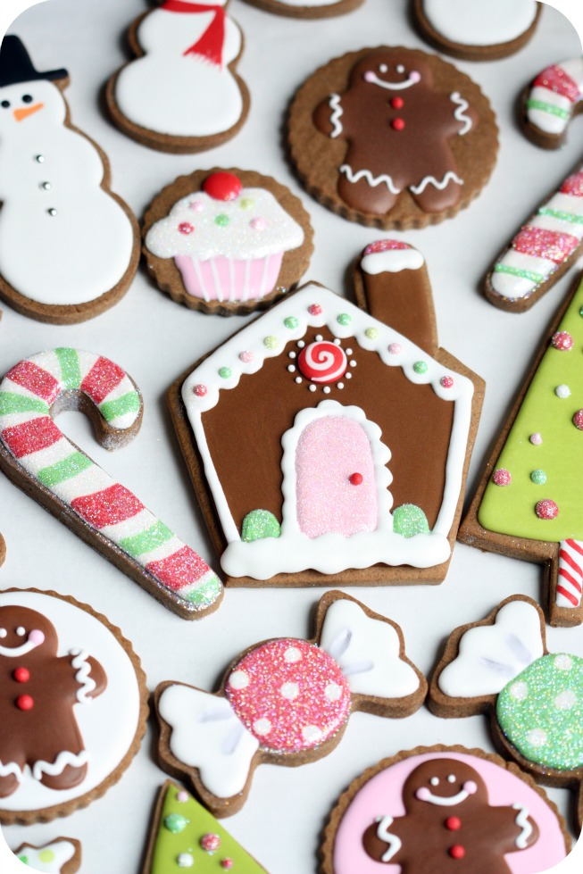 pin it - Christmas Cookie Decorating Tips