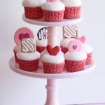 cupcake tier for valentines day