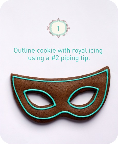 Baking Mardi Gras Cookies By Sweetopia The TomKat Studio Blog Adorable How To Decorate A Mask