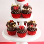 Valentines Day Cupcakes on Tier