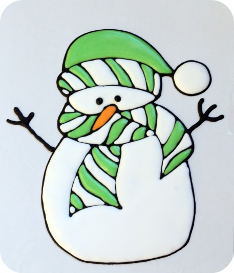 snowman-royal-icing-transfer