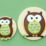 Owl Decorated Cookies
