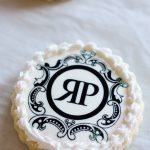company logo decorated cookie edible ink image
