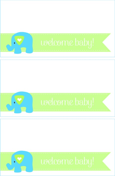 baby shower elephant printables welcome baby printables