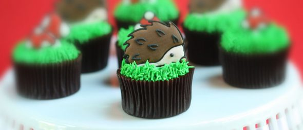hazelnut-hedgehot-woodland-cupcakes
