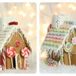 4 simple gingerbread houses