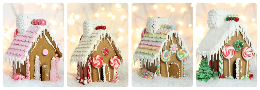 Video Making A Gingerbread House Free Printable Gingerbread House Template Sweetopia