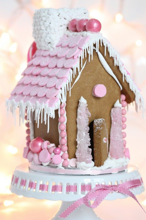 pink-gingerbread-house