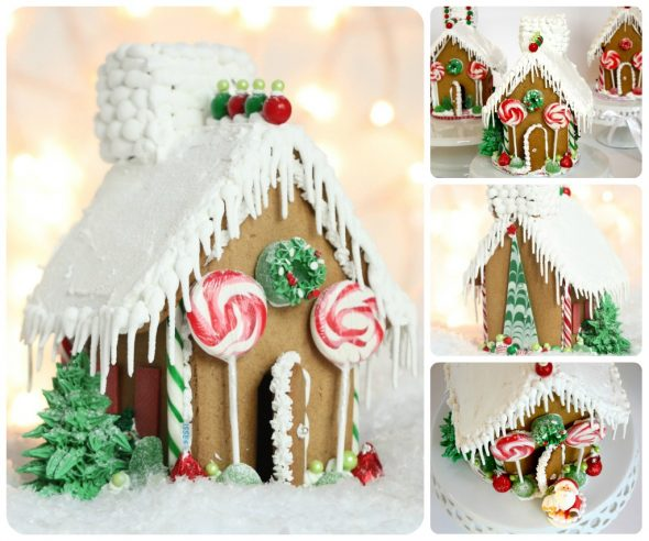 Simple Gingerbread House Recipe: Mad About Pink: Gingerbread House And Royal Icing Recipe