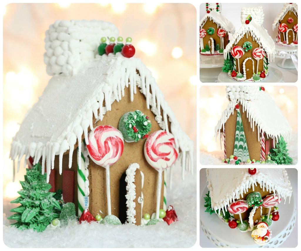 Royal Icing For Gingerbread Houses {How-To Video} & A
