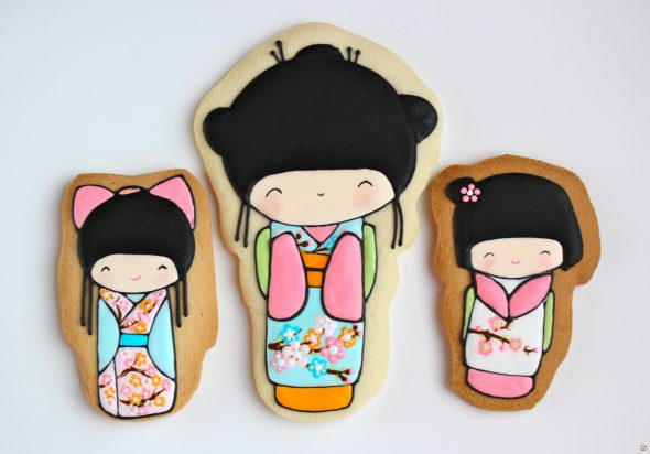 FAQs for Cookie Decorating & Kokeshi Decorated Cookies