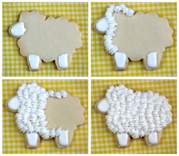 Easter Lambs Craft