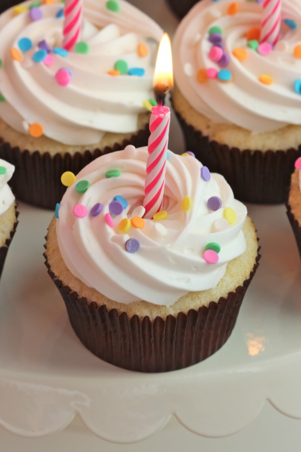 Wondrous Birthday Party Cupcake Frosting Sweetopia Funny Birthday Cards Online Overcheapnameinfo