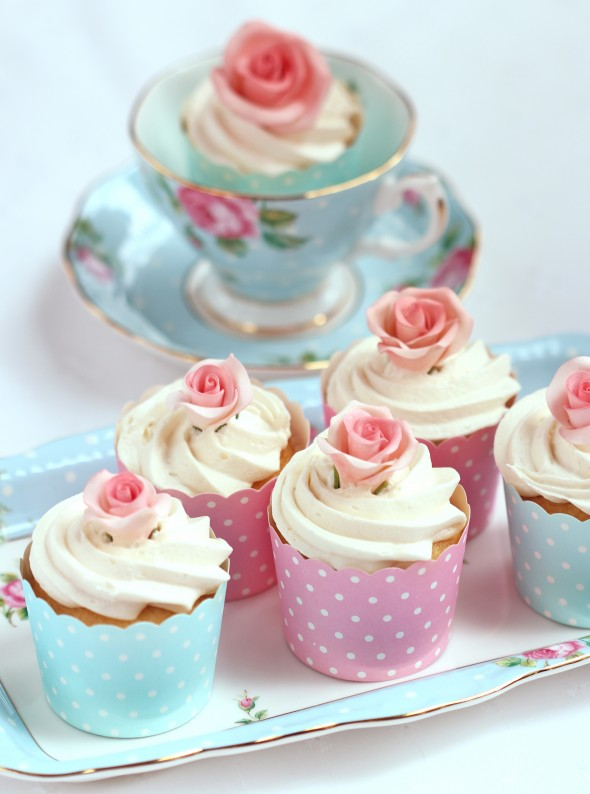 Frosting Flower Cupcakes | www.pixshark.com - Images ...