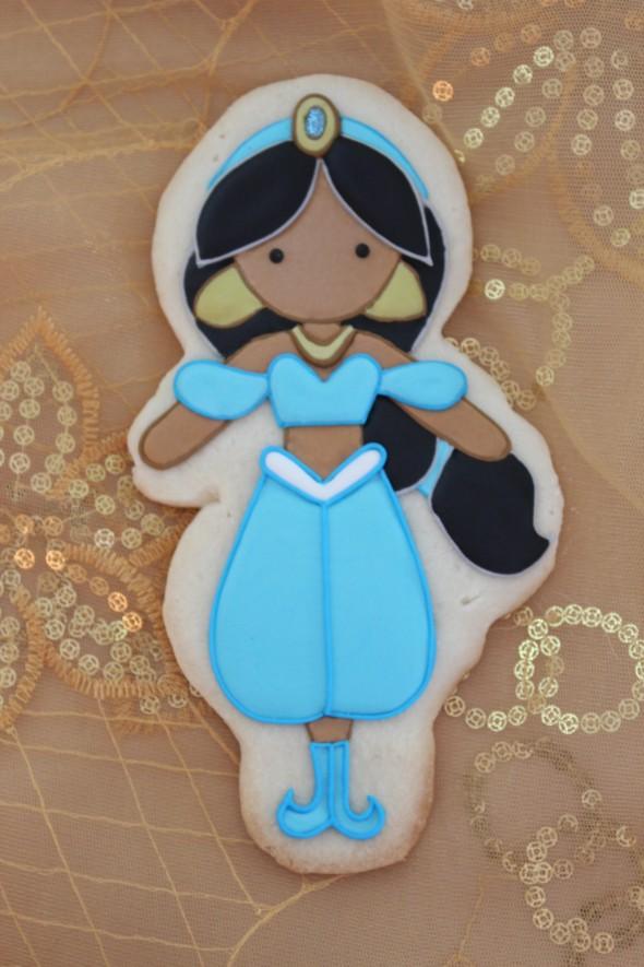 Princess Jasmine Cookie How-To