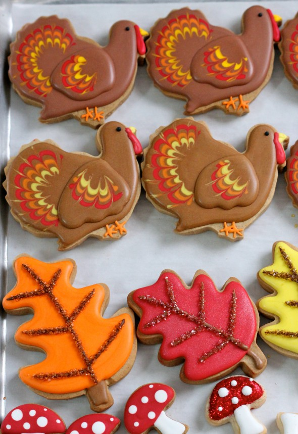 thanksgiving sugar cookies decorating ideas decorating cookies 5