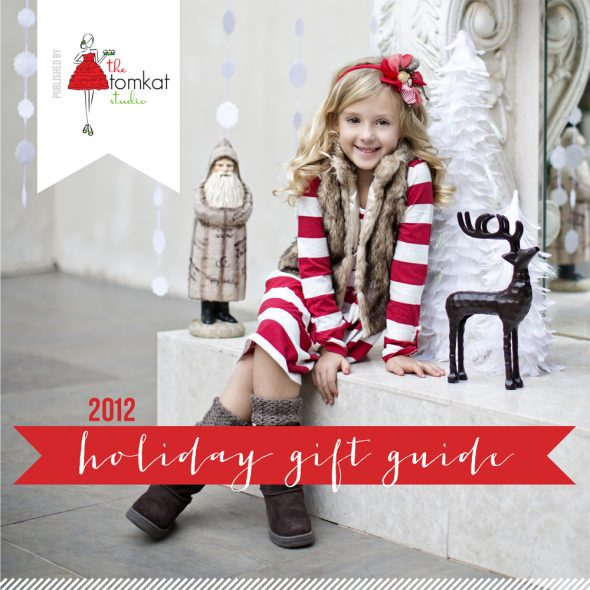 Holly Decorated Cookies & The TomKat Studio's Holiday Gift Guide