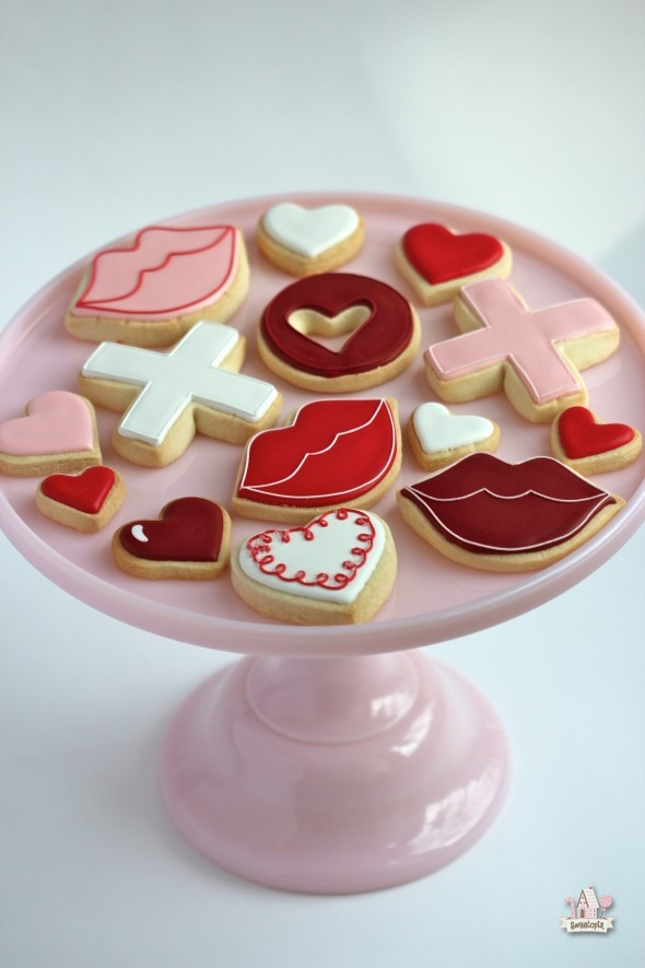 Royal Icing Cookie Decorating Ideas Valentines