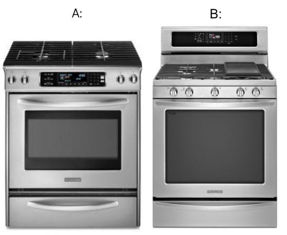 Kitchenaid Stoves A And B 590x483