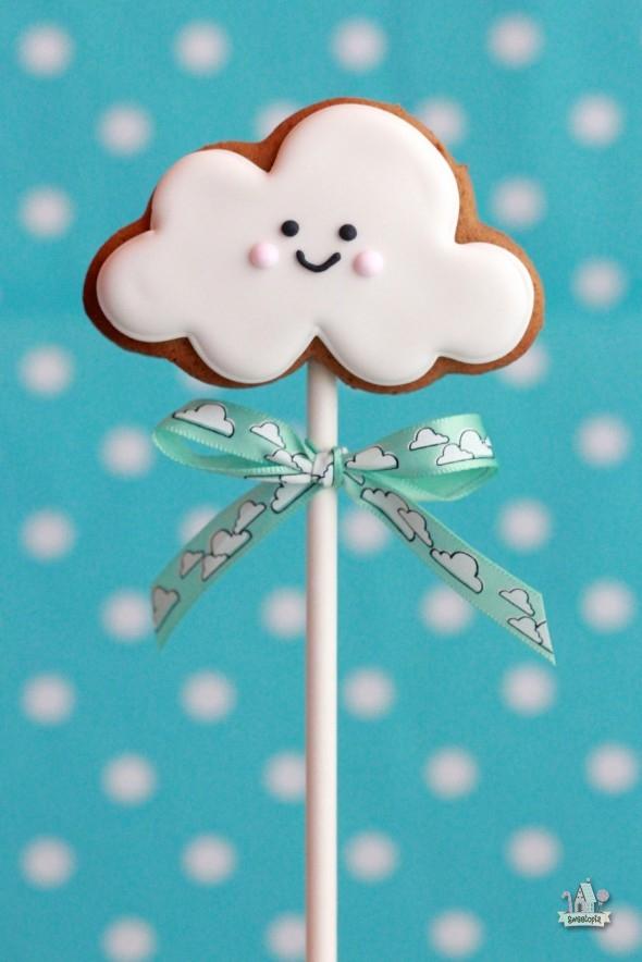 Cinnamon Molasses Cloud Cookies
